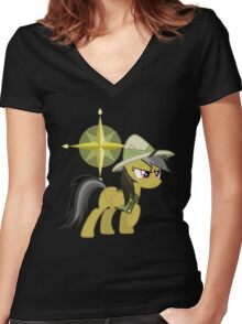 My little Pony - Daring Do Women's Fitted V-Neck T-Shirt
