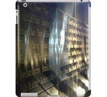 Empty Sky Memorial II iPad Case/Skin