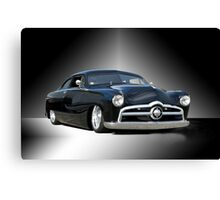 1950 Ford Custom Coupe - Studio Canvas Print