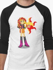 My little Pony - Sunset Shimmer Men's Baseball ¾ T-Shirt