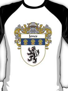 Jones Welsh Coat of Arms/Family Crest T-Shirt
