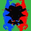 A Rorschachian Christmas by Bjondon