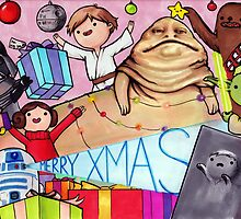 May the Presents Be With You by cheezup