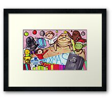 May the Presents Be With You Framed Print