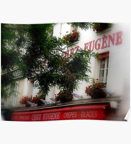 Chez Eugene Poster
