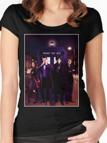 Wholock Shirt 3 Women's Fitted Scoop T-Shirt