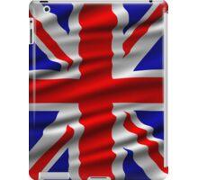 Great Britain Wavy Flag illustration iPad Case/Skin