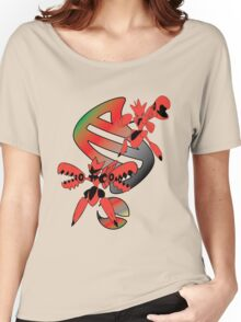 Mega Scizor Evolution Women's Relaxed Fit T-Shirt
