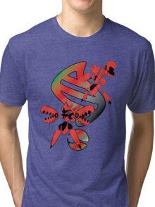 Mega Scizor Evolution Tri-blend T-Shirt