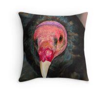 1020 vulture Throw Pillow