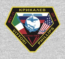 Russian Mission Patch- Soyuz TMA 6 by cadellin