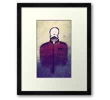 The demon of the undead preacher Framed Print