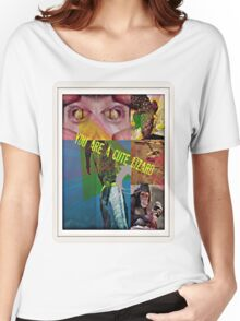 you are a cute lizard Women's Relaxed Fit T-Shirt