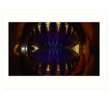 Ceiling of the United States Air Force Academy Chapel Art Print