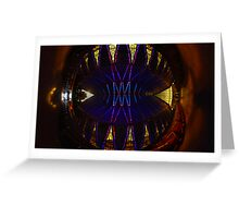 Ceiling of the United States Air Force Academy Chapel Greeting Card