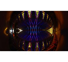 Ceiling of the United States Air Force Academy Chapel Photographic Print