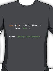 PHP Ho! Ho! Ho! Merry Christmas! T-Shirt