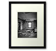 Protective Layer Of Debris Framed Print