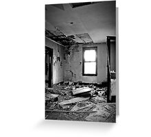 Protective Layer Of Debris Greeting Card