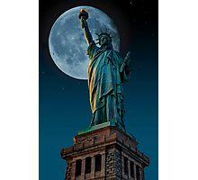 Liberty Moon Photographic Print