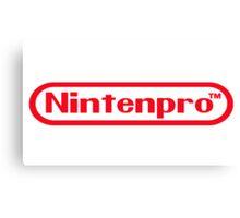 Nintenpro Video Gamer Canvas Print