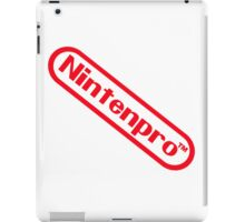 Nintenpro Video Gamer iPad Case/Skin