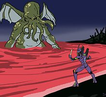 Elder God verses EVA: End of Evangelion by CaptainSunshine