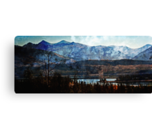 Lake Dillon Colorado Morning Canvas Print