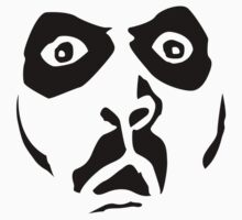 Paul Bearer Face by Bob Buel
