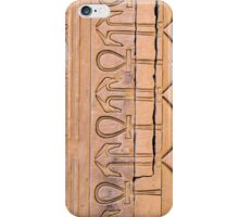 Dendara Carving iPhone Case/Skin