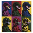 Dinosaur Pop Art by Tabner