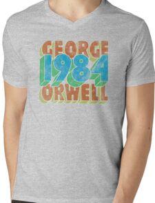 1984 (Inverted) Mens V-Neck T-Shirt