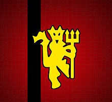 Manchester Devil - Football / Futbol / Soccer iPhone Cover by iArt Designs
