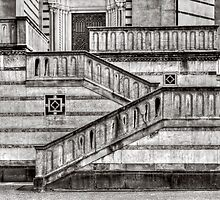 Staircase and stripes by Roberto Pagani