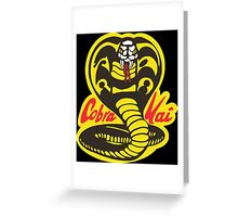 The Karate Kid - Cobra Kai Logo Greeting Card