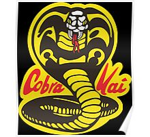 The Karate Kid - Cobra Kai Logo Poster