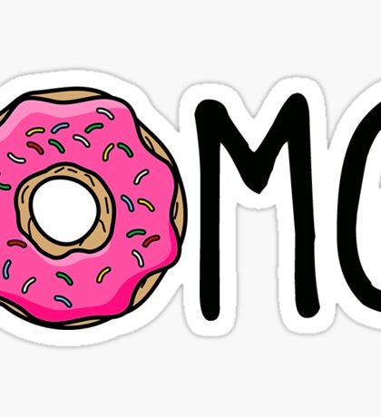 omg donut Sticker