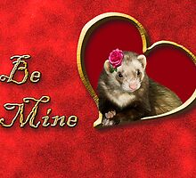 Be Mine Ferret by jkartlife