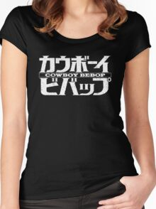 Cowboy Bebop logo Women's Fitted Scoop T-Shirt