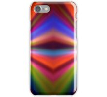 Colorful blur background iPhone Case/Skin