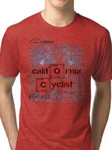 Cycling T Shirt - California Cyclist Tri-blend T-Shirt