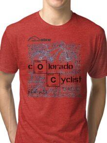 Cycling T Shirt - Colorado Cyclist Tri-blend T-Shirt