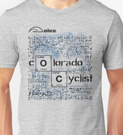 Cycling T Shirt - Colorado Cyclist Unisex T-Shirt