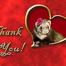Thank You Ferret by jkartlife