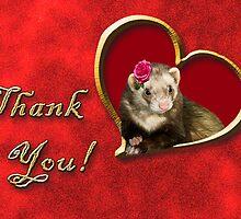 Thank You Ferret by jkartlife