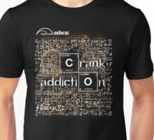 Cycling T Shirt - Crank Addiction Unisex T-Shirt
