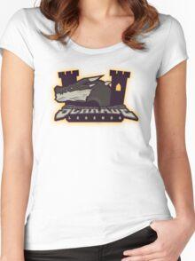 Monster Hunter All Stars - Schrade Legends Women's Fitted Scoop T-Shirt