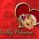 Be My Valentine Hamster by jkartlife
