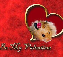 Be My Valentine Hamster by jkartlife