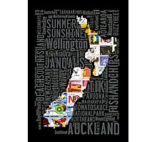 New Zealand NZ Aotearoa Stamp Photographic Print